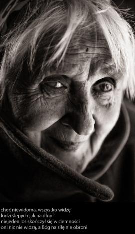 Niewidoma / Blind Woman