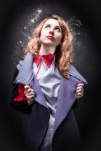 Ubiór, makijaż i modelka - Ewa Potapow